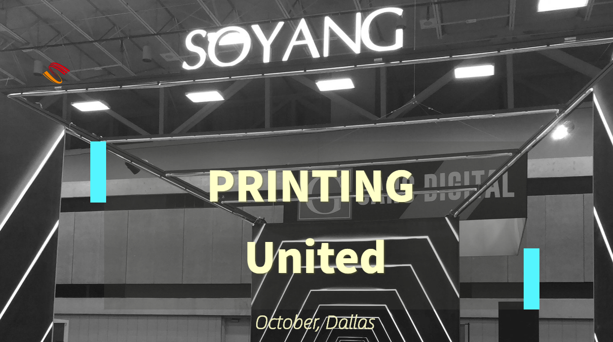 Soyang made Unforgettable Memory at PRINTING United